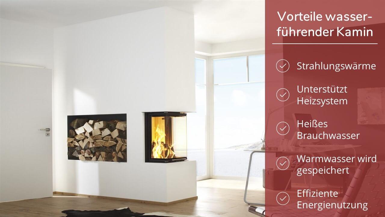 Wasserführender Kamin Komplettset von Brunner & Co. - Kosten & mehr